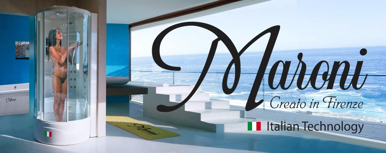 Марони итальянские душевые кабины